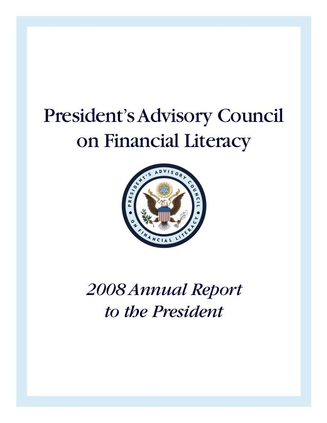 President's Advisory Council on Financial Literacy