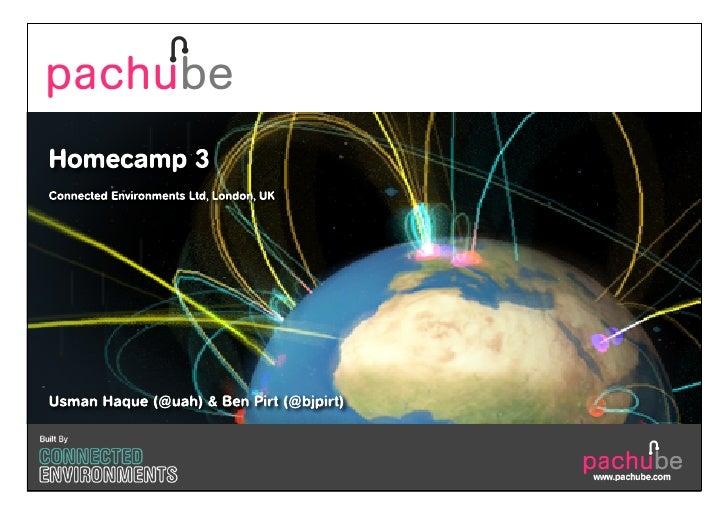 Pachube @ Homecamp 3 (Dec 2010)