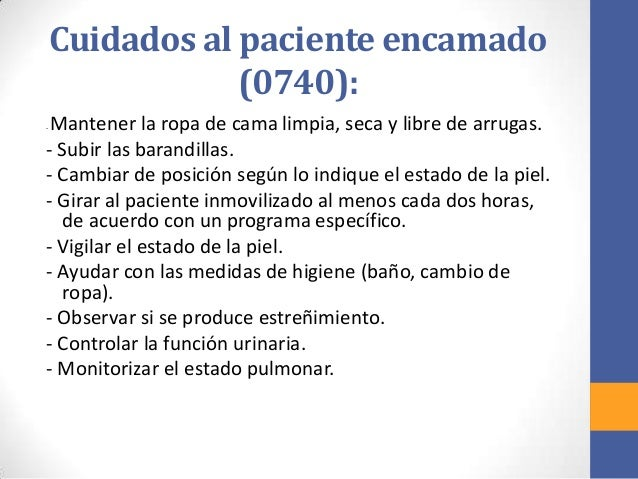 Baño General Del Paciente En Cama:cuidados de enfermeria al paciente critico