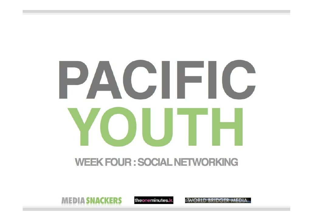 Pacific Youth - social networking