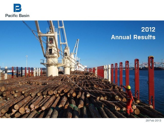 Pacific Basin Q4 2012 results presentation