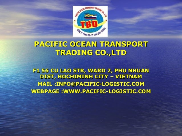 Pacific ocean transport trading   profile