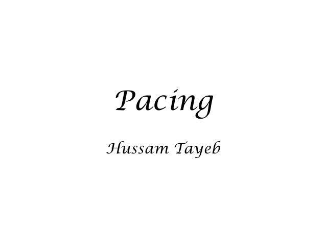 Pacing Hussam Tayeb