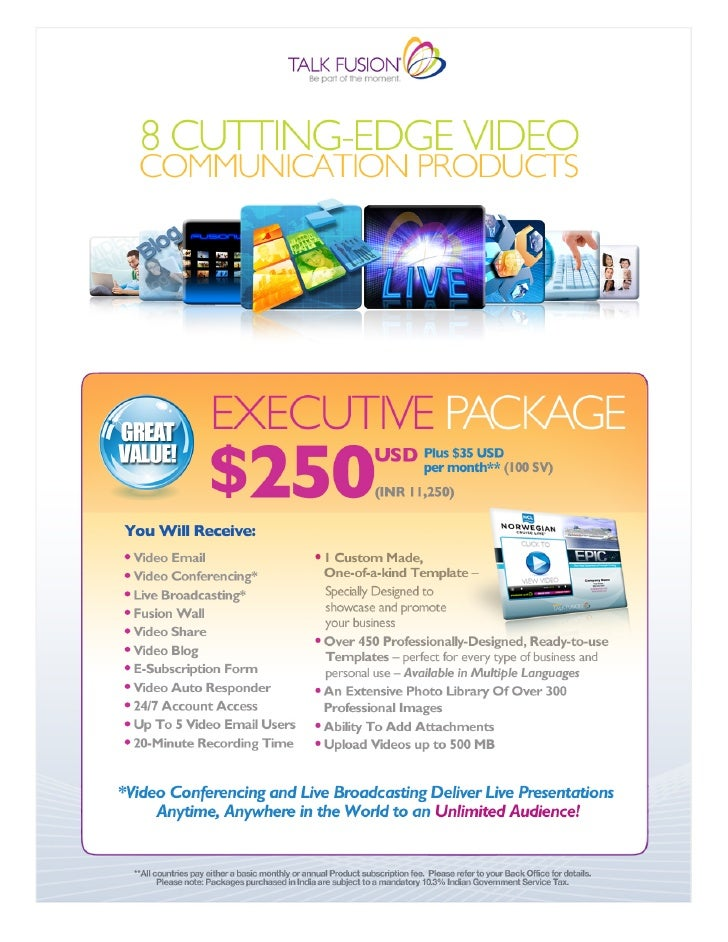 Package pricing 2011