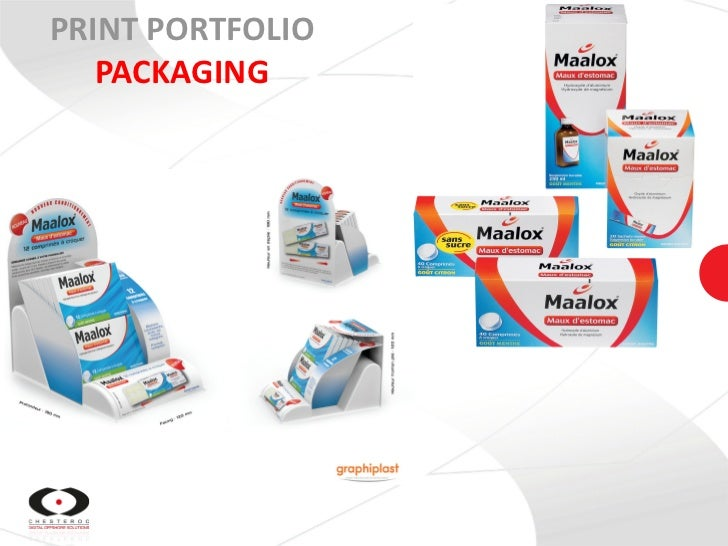 PRINT PORTFOLIO   PACKAGING