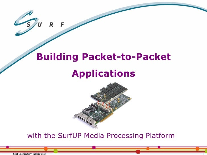 Packet-to-Packet Applications