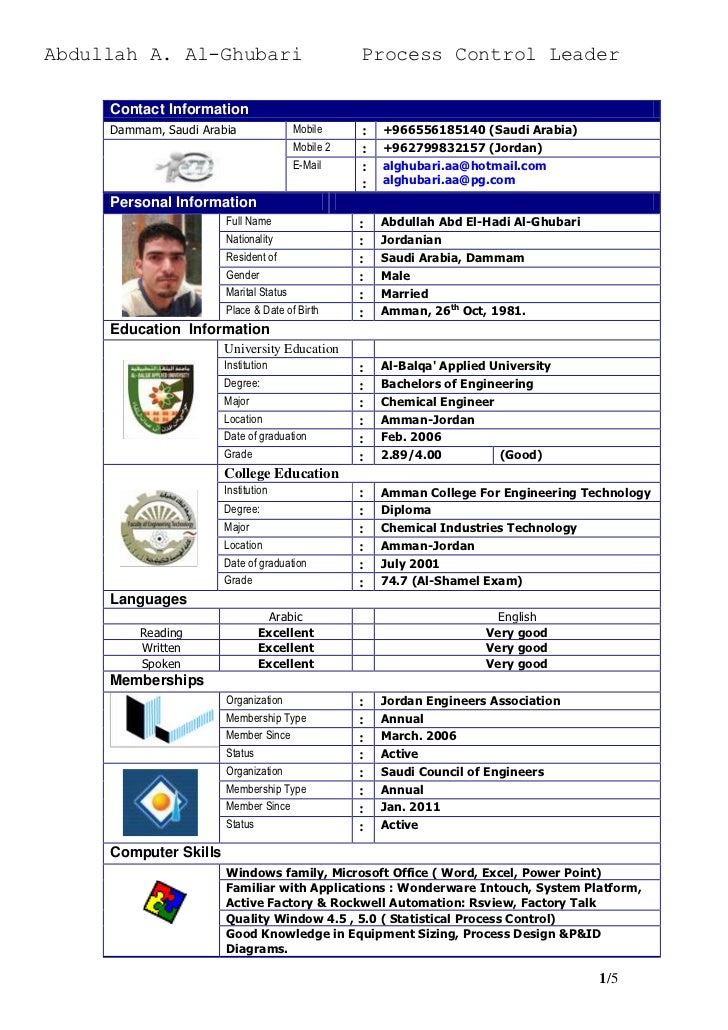 Abdullah A. Al-Ghubari                           Process Control Leader     Contact Information     Dammam, Saudi Arabia  ...