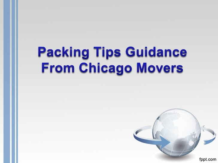 Packing tips guidance from chicago movers
