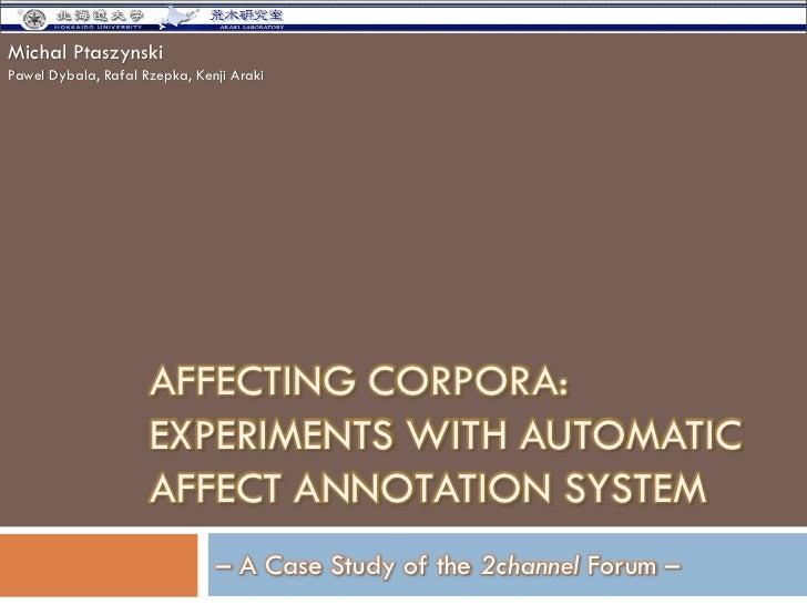 Pacling 2009 ptaszynski_presentation