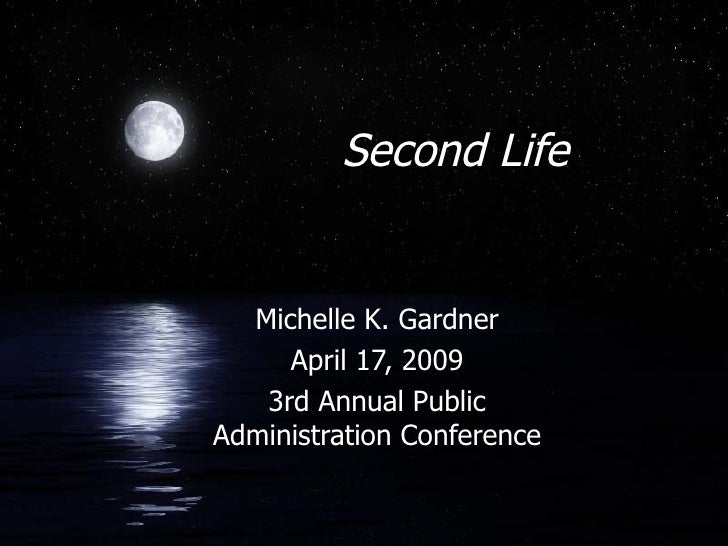 A Brief Introduction to Second Life
