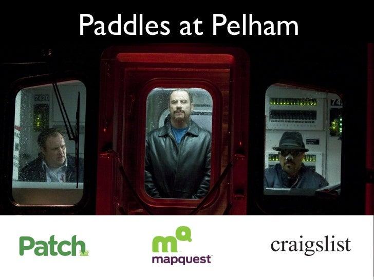 Paddles at pelham