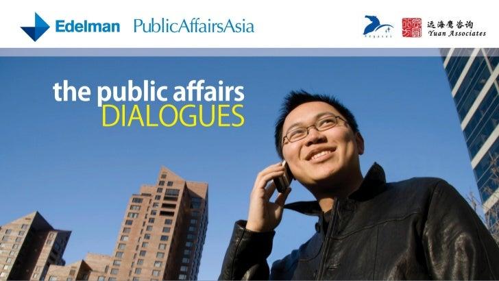 Public Affairs Dialogues 2010