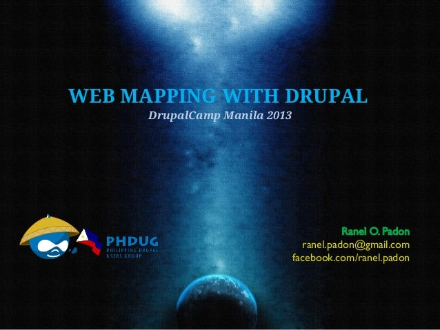 Web Mapping with Drupal