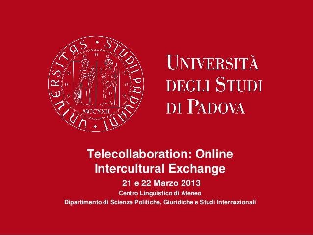 Padova intent workshop 21march_2013