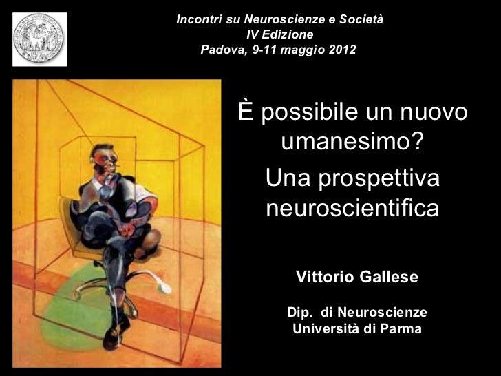 Vittorio Gallese (Università di Parma)