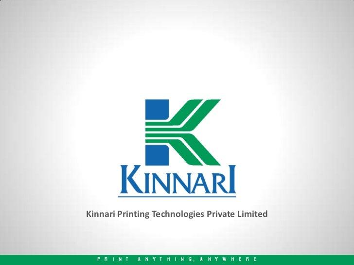 Kinnari Printing Technologies Private Limited