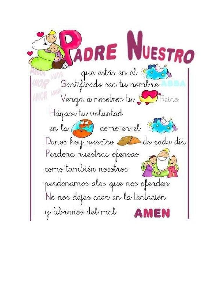 Oracion Padre Nuestro En Ingles