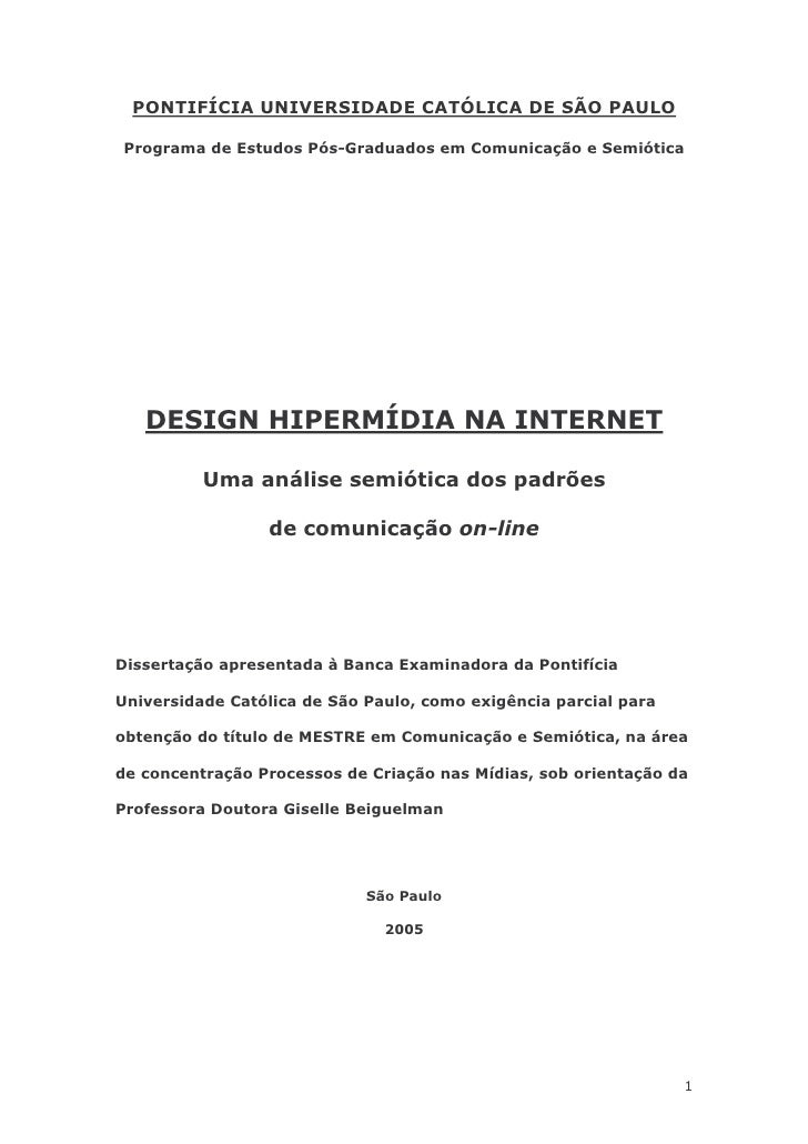 Padroes de Design Hipermidia