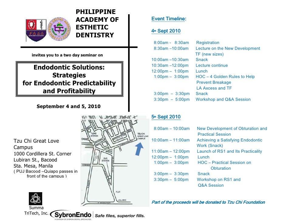 PHILIPPINE                              ACADEMY OF             Timeline:                                               Eve...