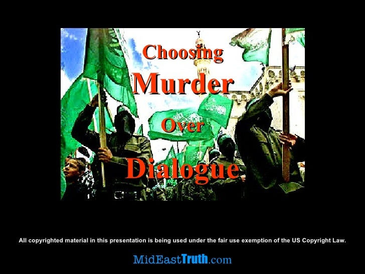 Pa Elections - Choosing Murder Over Dialogue