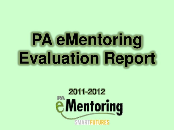 PA eMentoringEvaluation Report      2011-2012