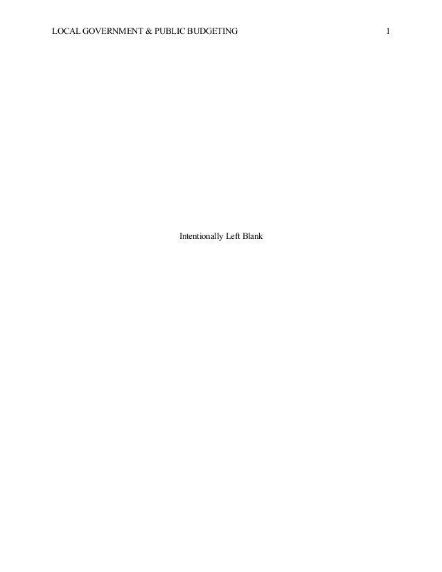 Graduate term paper