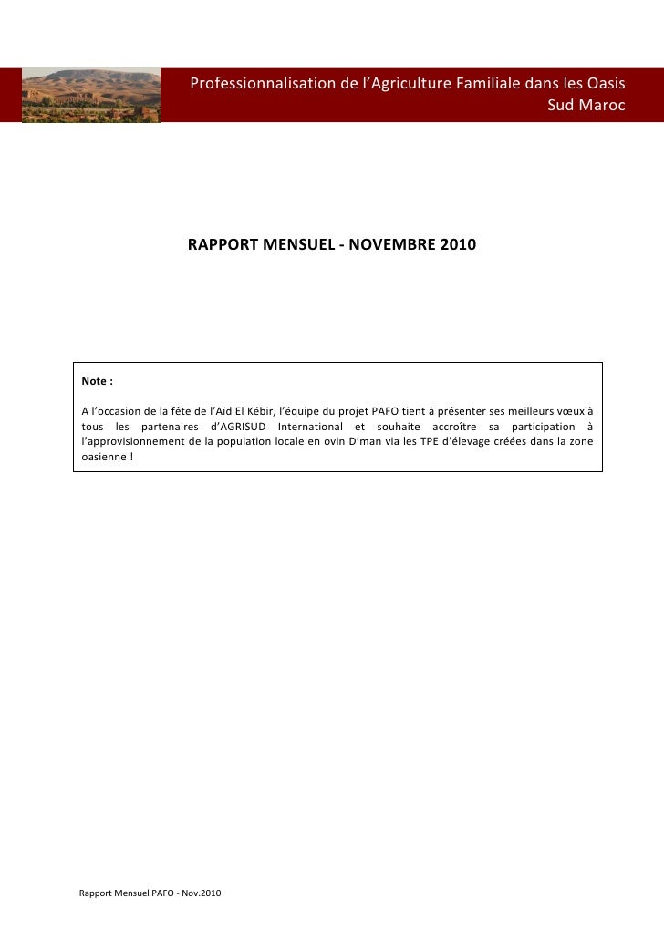 Pafo rapport-nov.2010