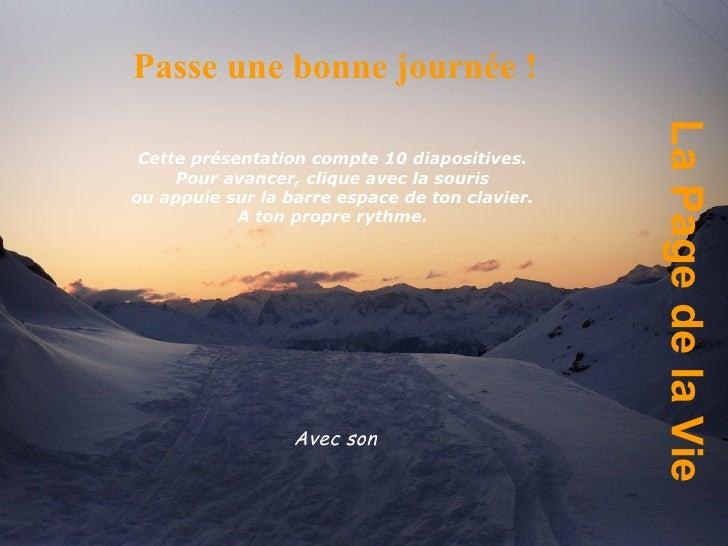 Page de la_vie
