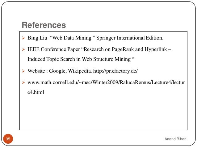 ieee research paper on web mining