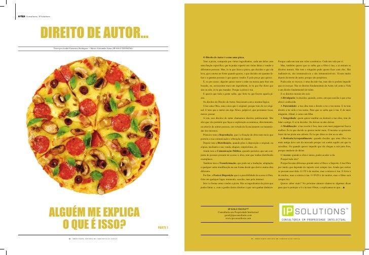 artigo Consultoria / IP Solutions                           DIREITO DE AUTOR…                                     Texto po...