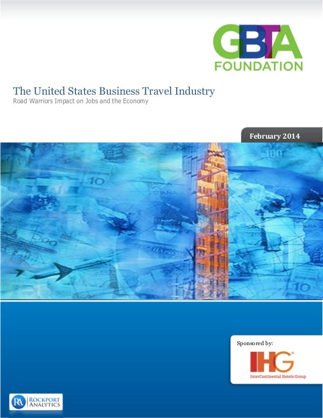 The United States Business Travel Industry 2014 (Select Pages)