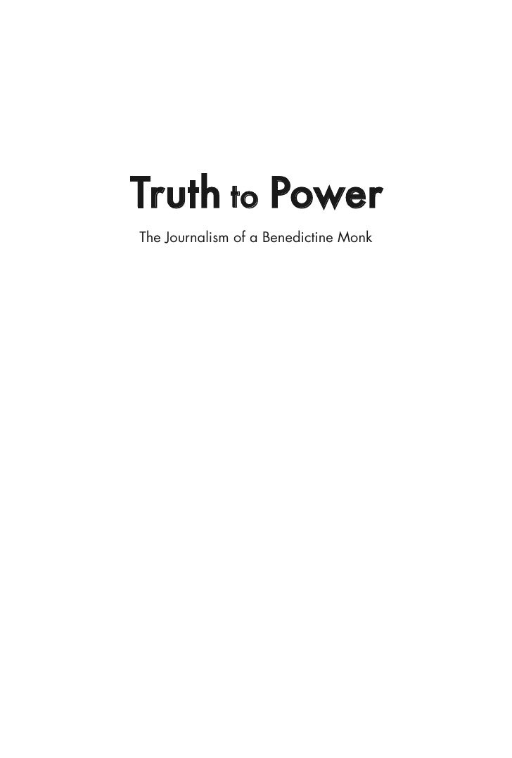 Truth To Power TOC and Foreword