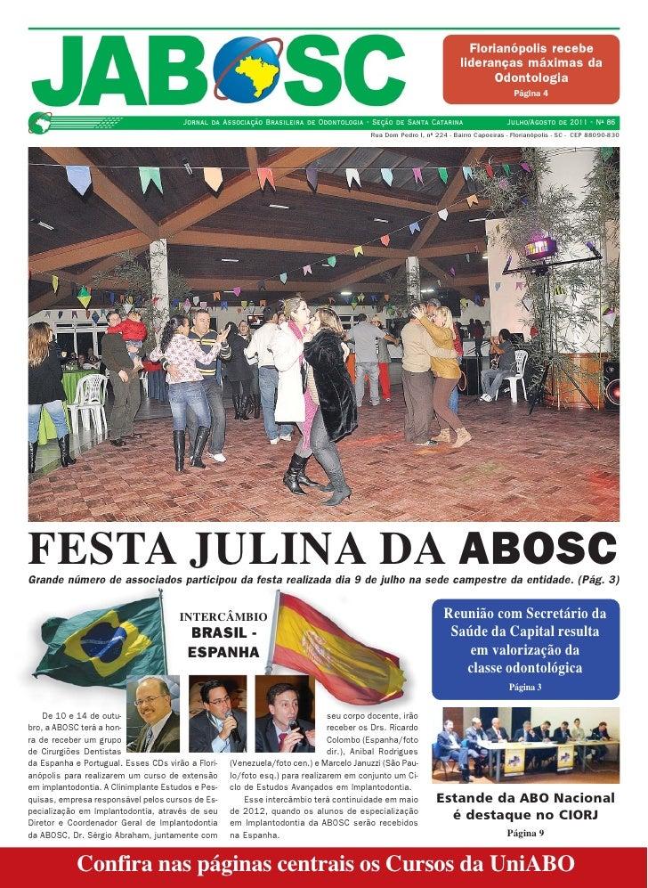 Capa Jornal ABO-SC