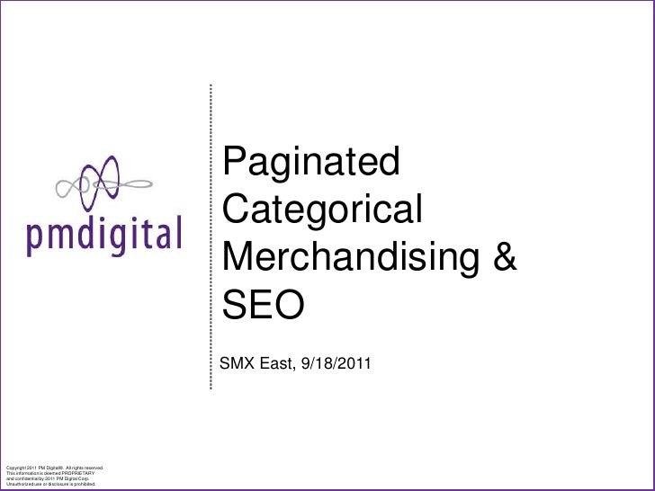 Multiple Category Merchandising & SEO
