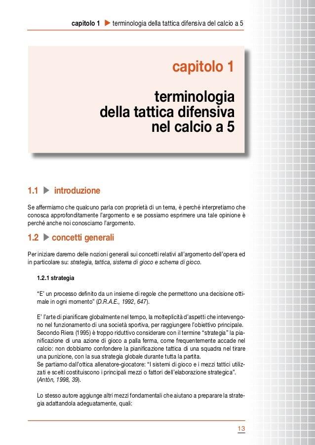 capitolo 1 u terminologia della tattica difensiva del calcio a 5  capitolo 1 terminologia della tattica difensiva nel calc...