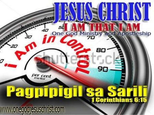 """1Corinthians 6:15 """"Hindi baga ninyo nalalaman na ang inyong mga katawan ay mga sangkap ni Cristo? kukunin ko nga baga ang ..."""