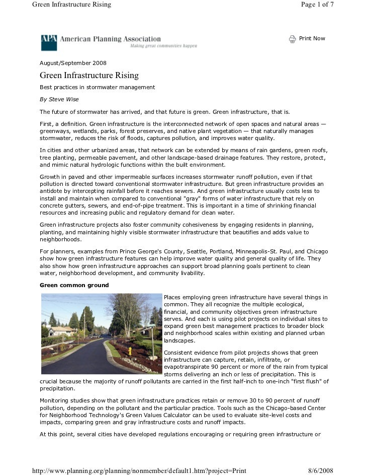 PA: Green Infrastructure Rising