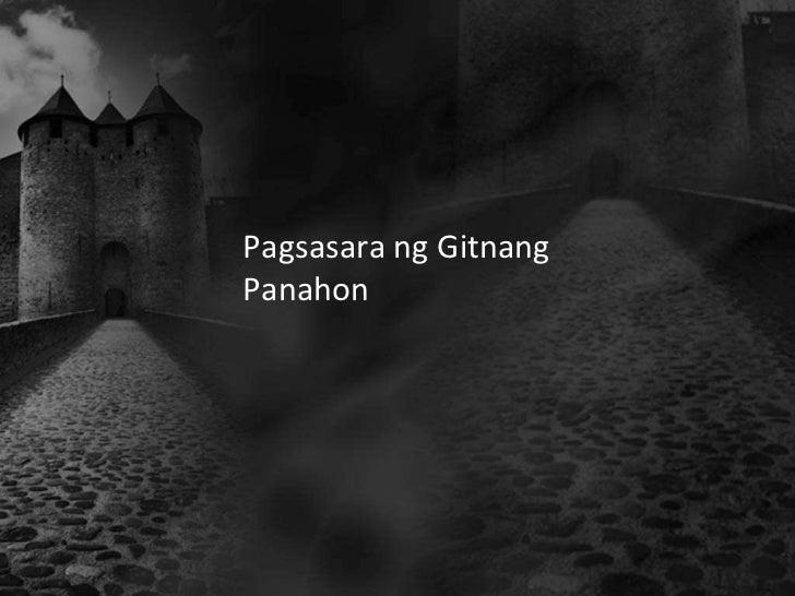 Pagsasara ng GitnangPanahon
