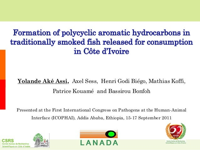 Formation of polycyclic aromatic hydrocarbons in traditionally smoked fish released for consumption in Côte d'Ivoire