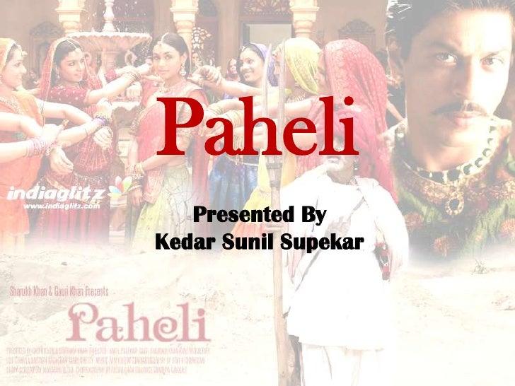 Paheli - Work Life Balance
