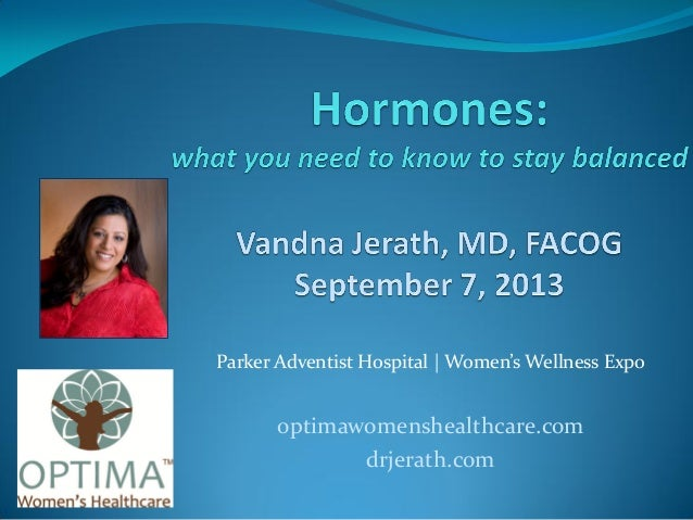 Hormones: what women need to know to stay balanced