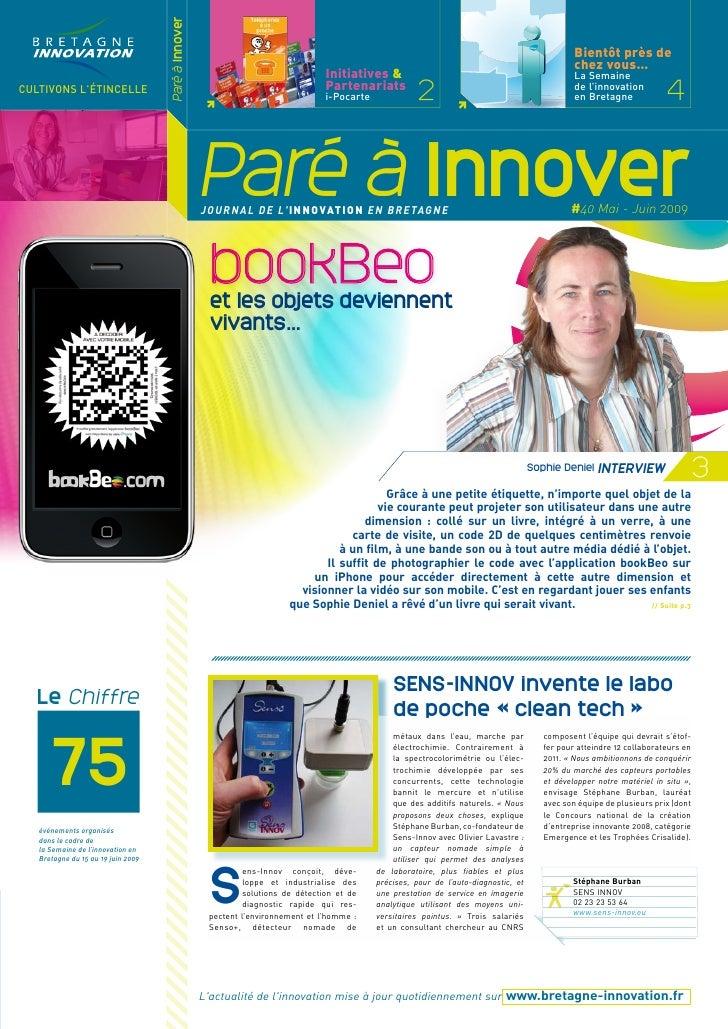Paré à innover 40
