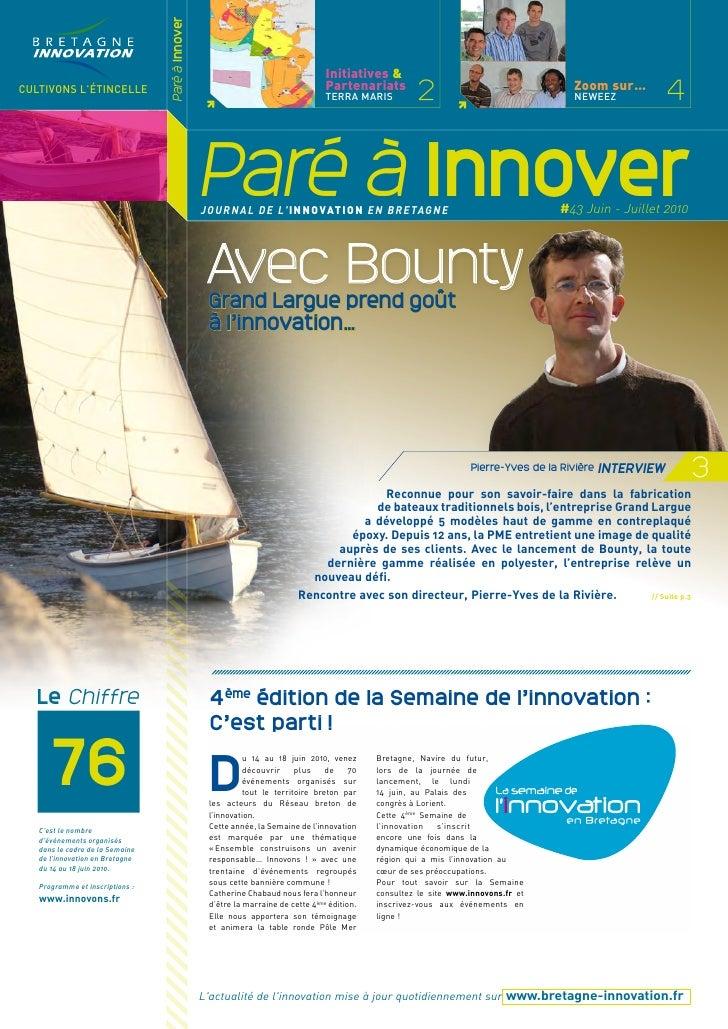 Paré à innover 43