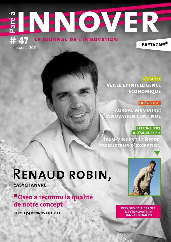 # 47     innoverParé à septembre2011               le journal de l'innovation                                            ...