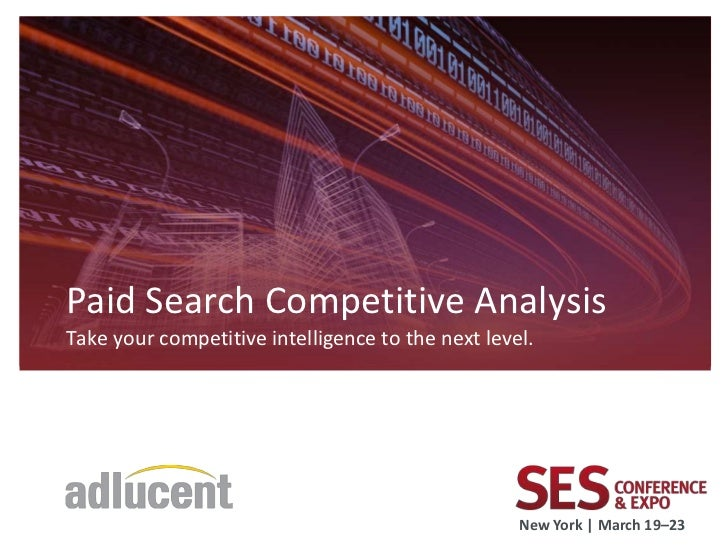 Paid search competitive analysis