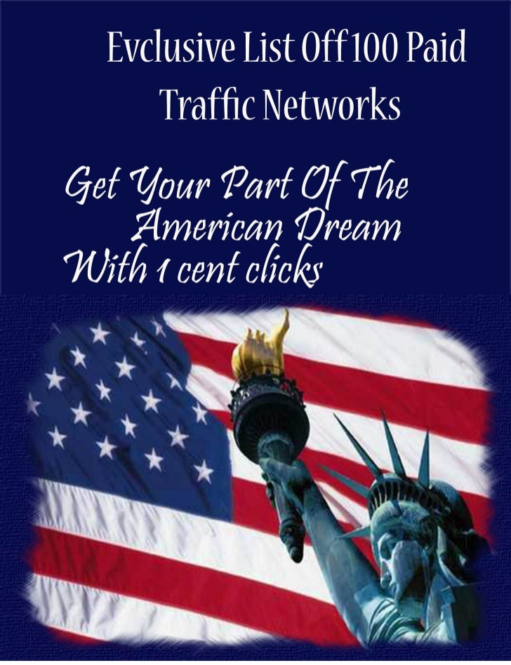 Get My Exclusive List Of 100s of Paid Traffic Souces