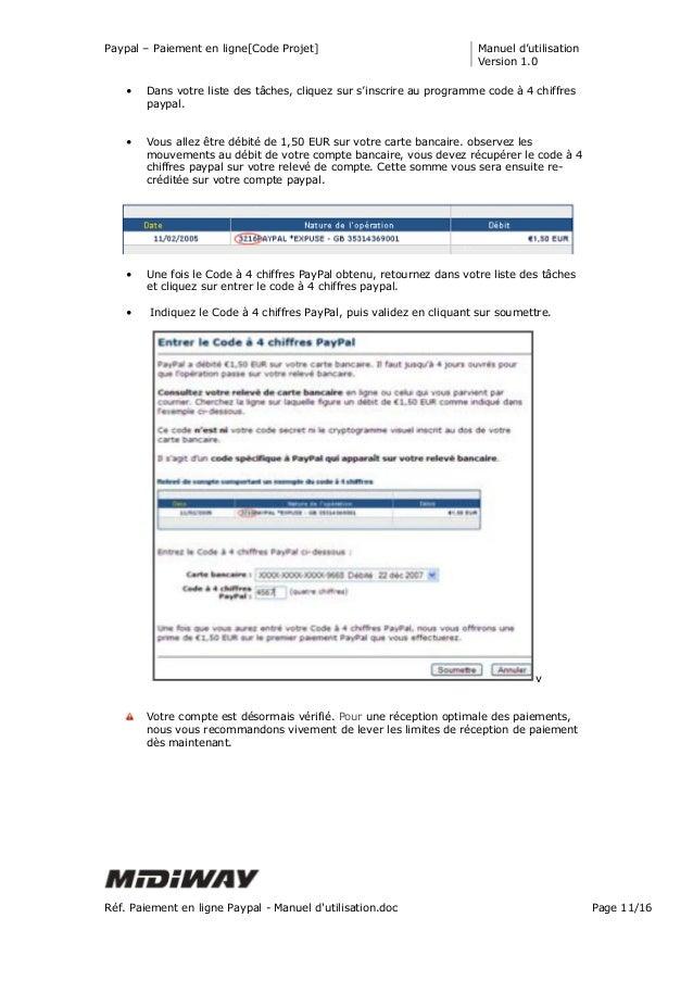Paiement en ligne paypal manuel d 39 utilisation - Paypal paiement en plusieurs fois ...