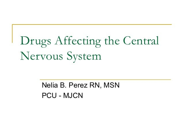 Pain drugs