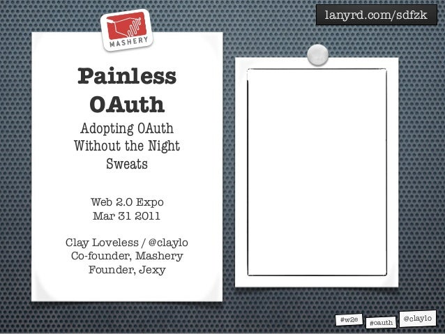 Painless OAuth