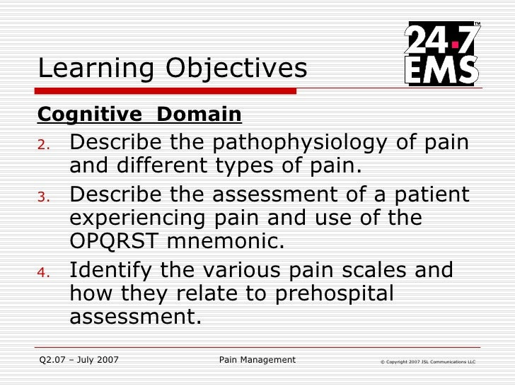proper assessment and intervention for patients experiencing pain A to z review of assessment and management of acute pain  a patient may experience better pain relief or offer the patient these interventions for pain.